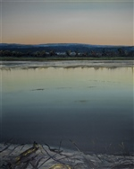 'Late Light' - Upper Tamar River Series (830)