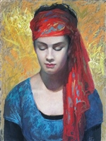 Girl with a Red Turban