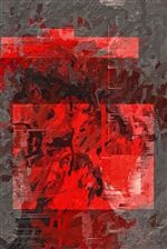 Abstract In Red 3